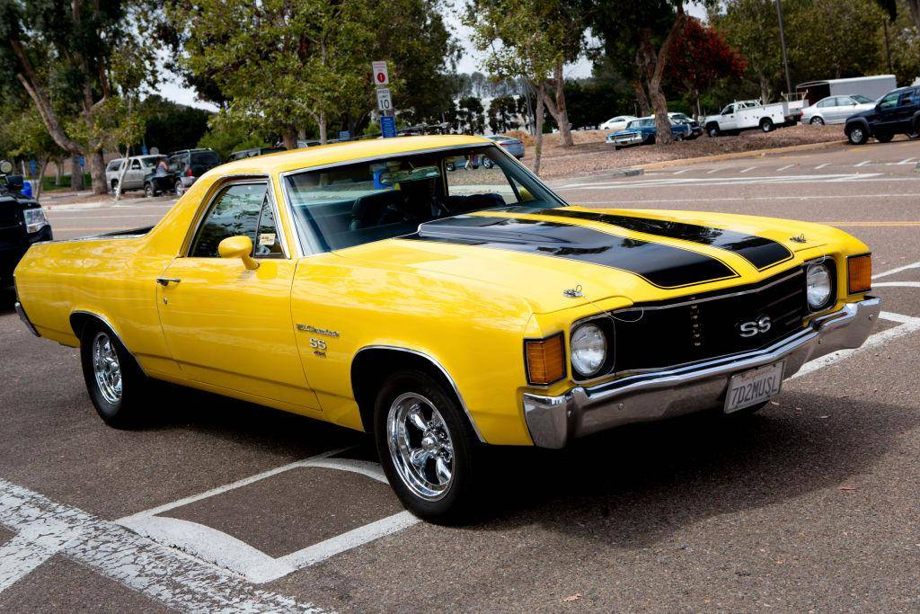 The Chevrolet El Camino Went Through Five Generations