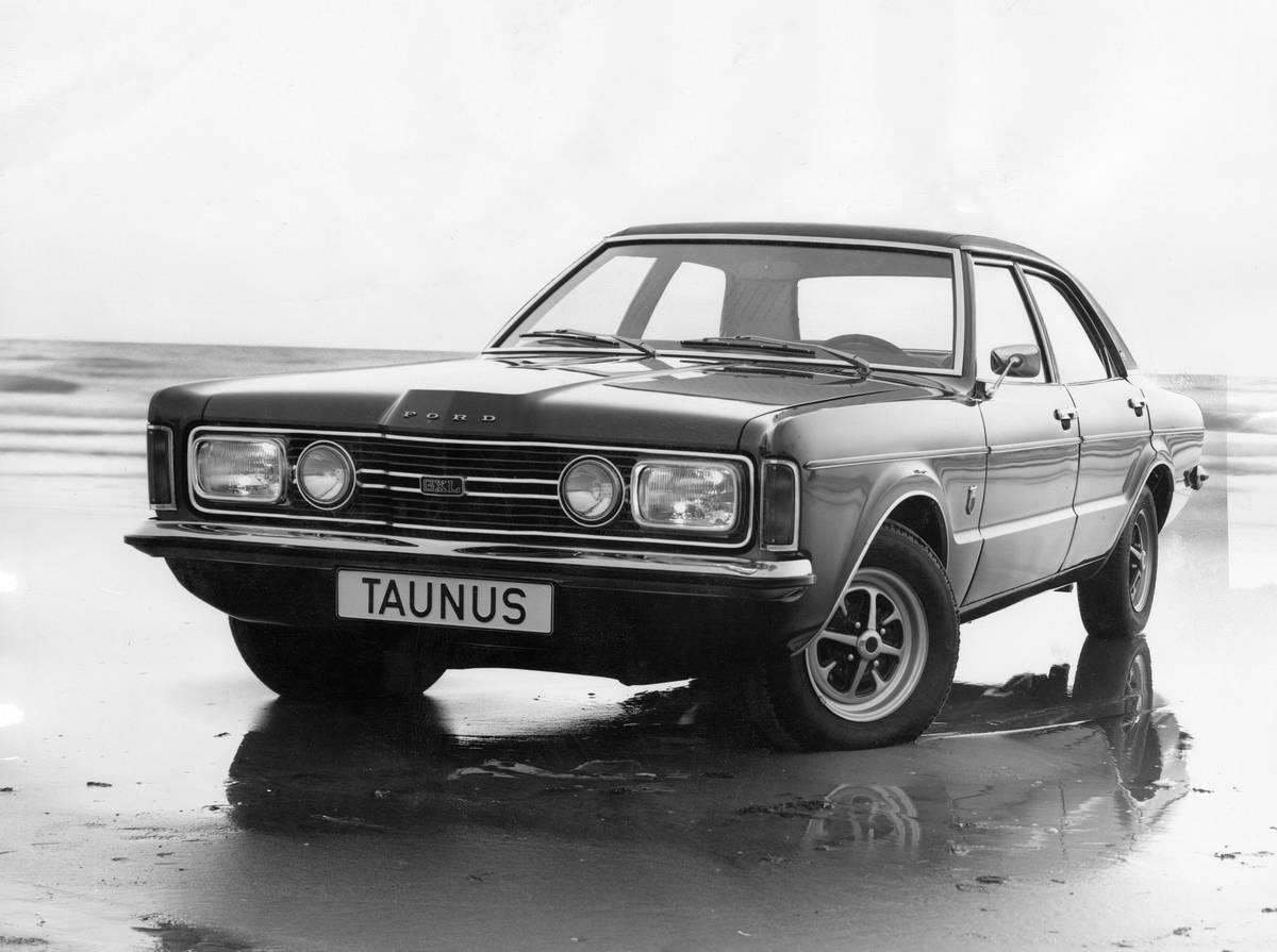 Ford Cars: Ford Taunus GXL