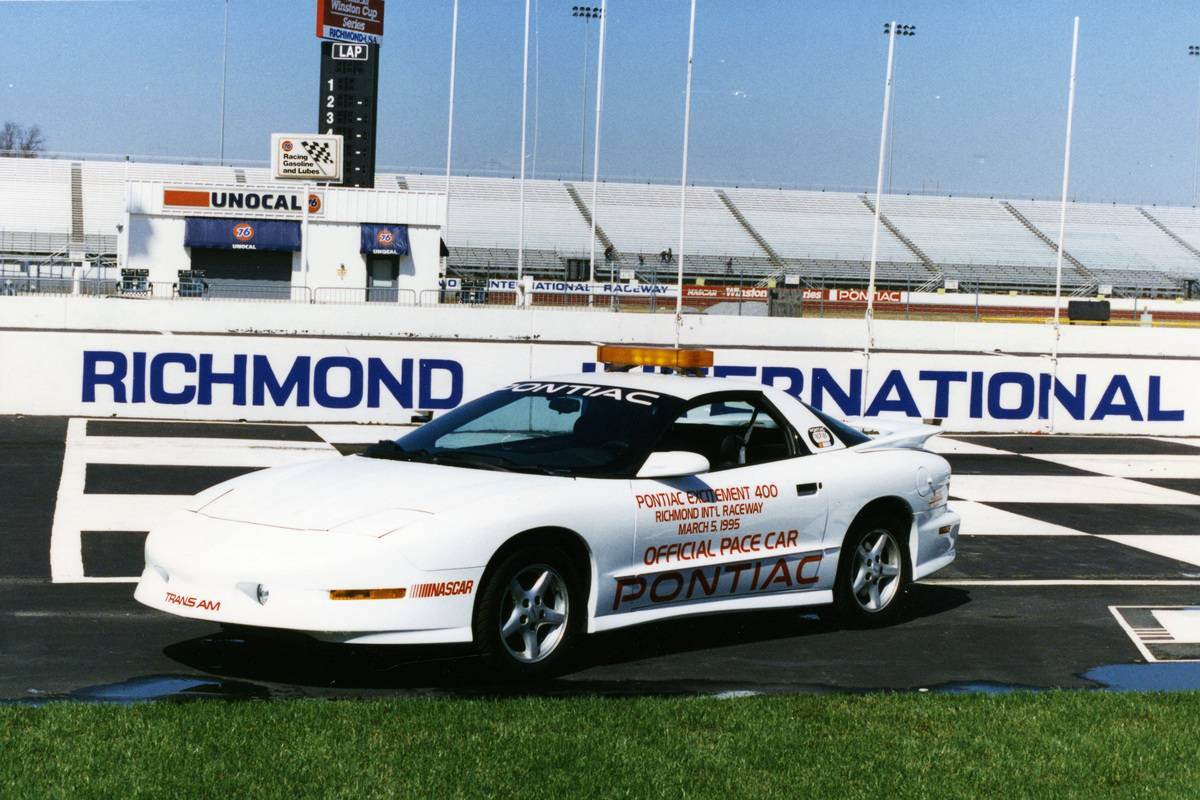 NASCAR pace car