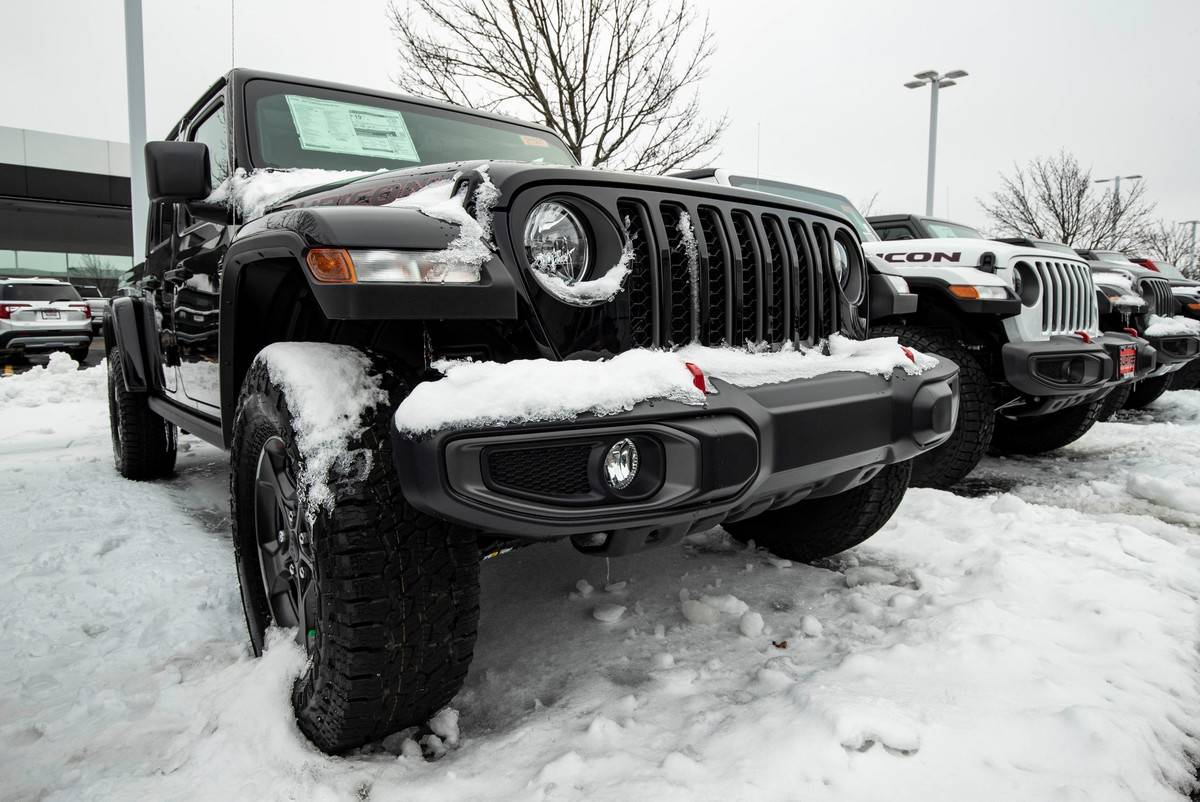 Jeep Wrangler Electric