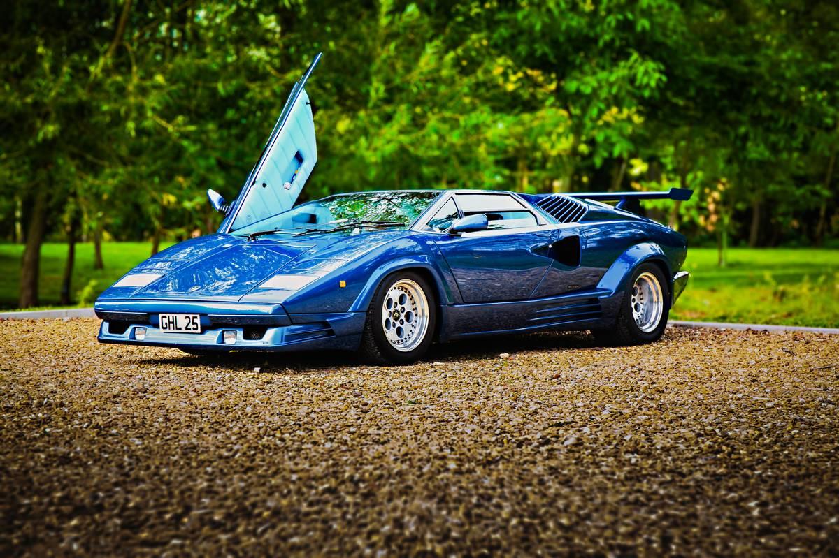 The Lamborghini Countach
