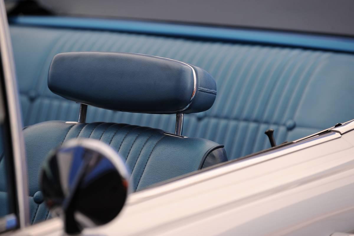 A 1968 Dodge Coronet R/T HEMi is on disp
