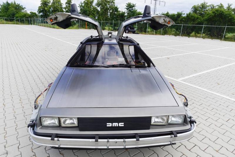I Drive My DeLorean With A Remote Control