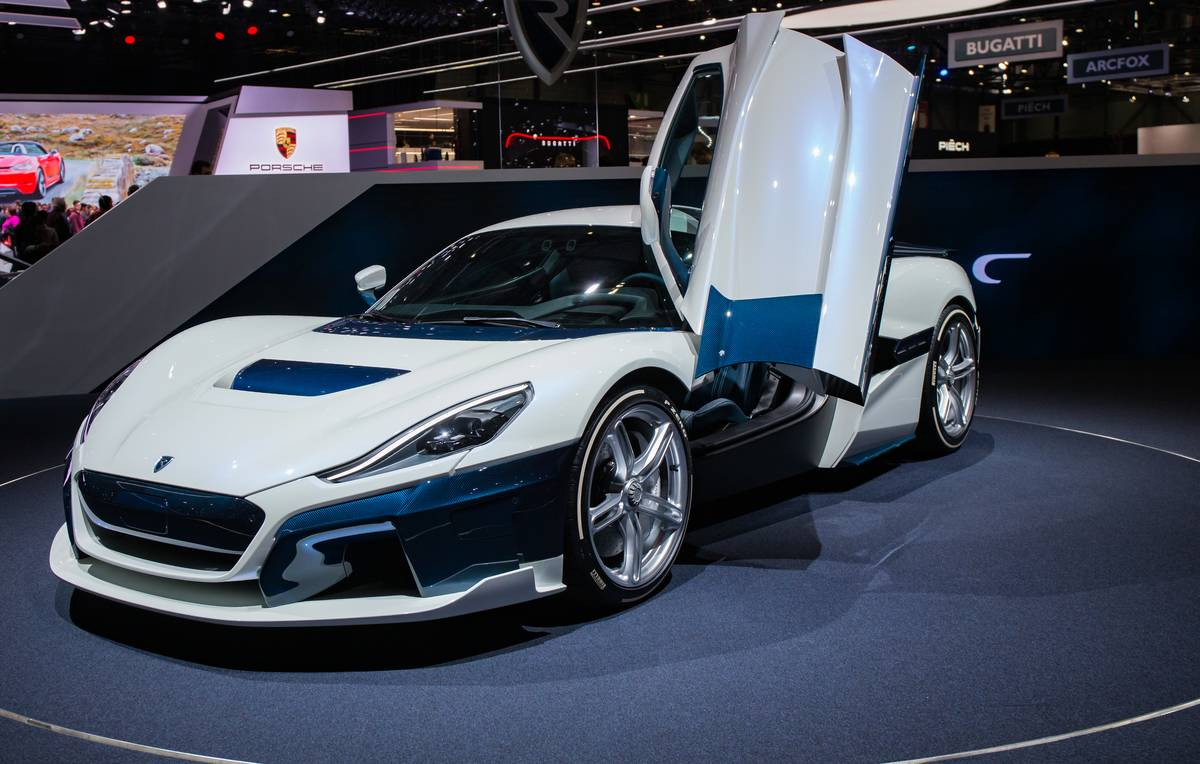The Rimac C Two...