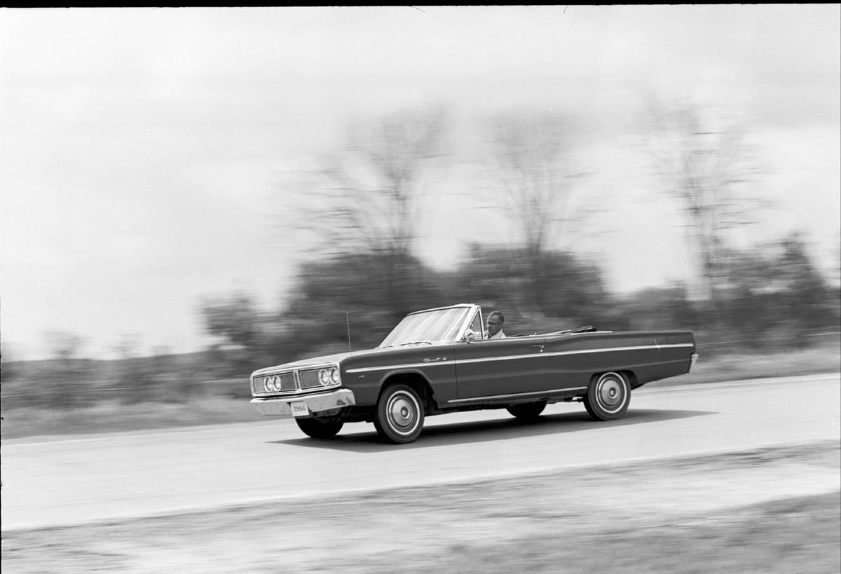 1966 Dodge Coronet Convertible - 4-Door Sedan Road Test