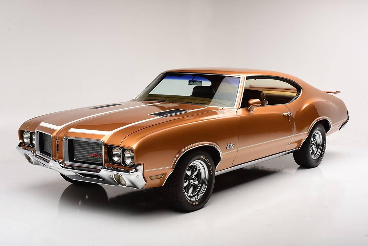 1968-1972 Oldsmobile Cutlass/4-4-2