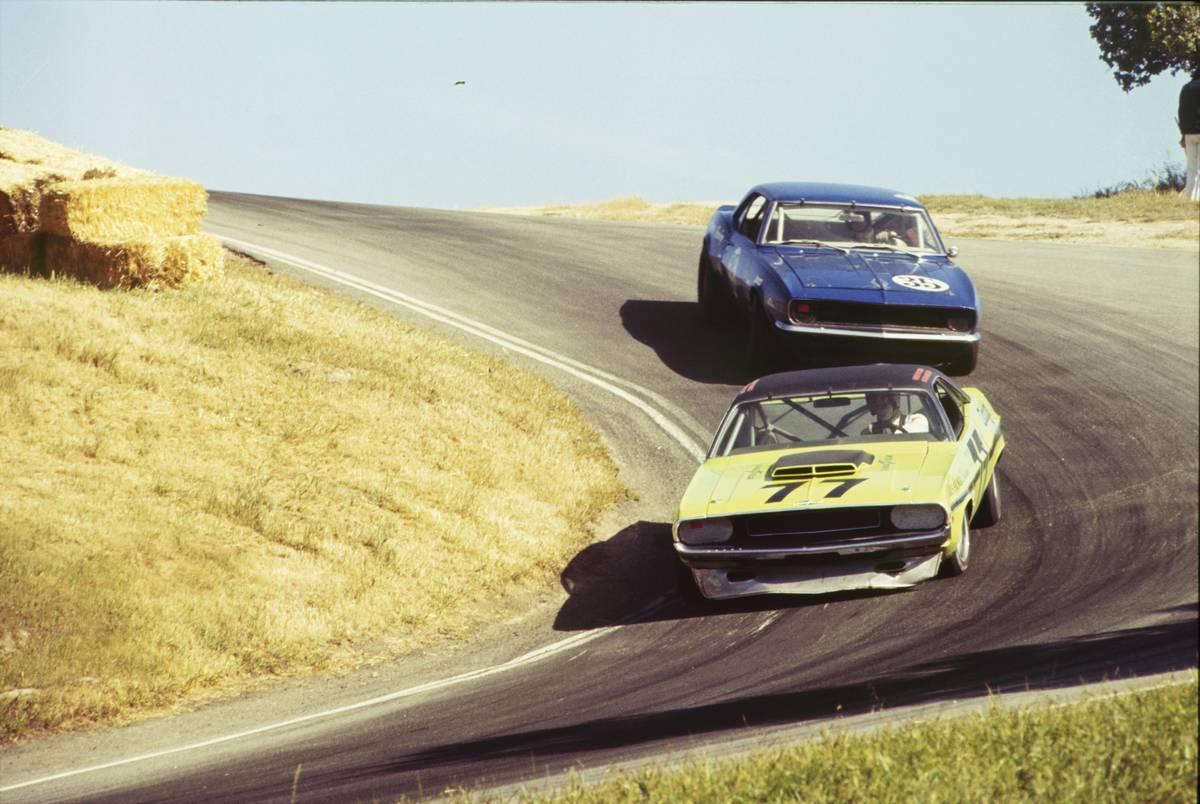 1970 Laguna Seca - SCCA Trans-Am - Round One