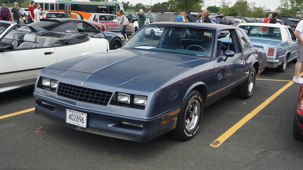 1983-1987 Chevrolet Monte Carlo SS