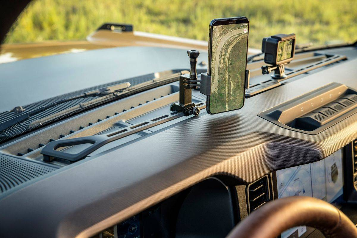 2021 Ford Bronco Rail Feature