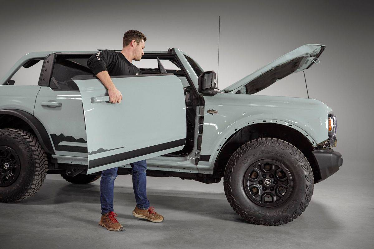 2021 Ford Bronco Removable Doors