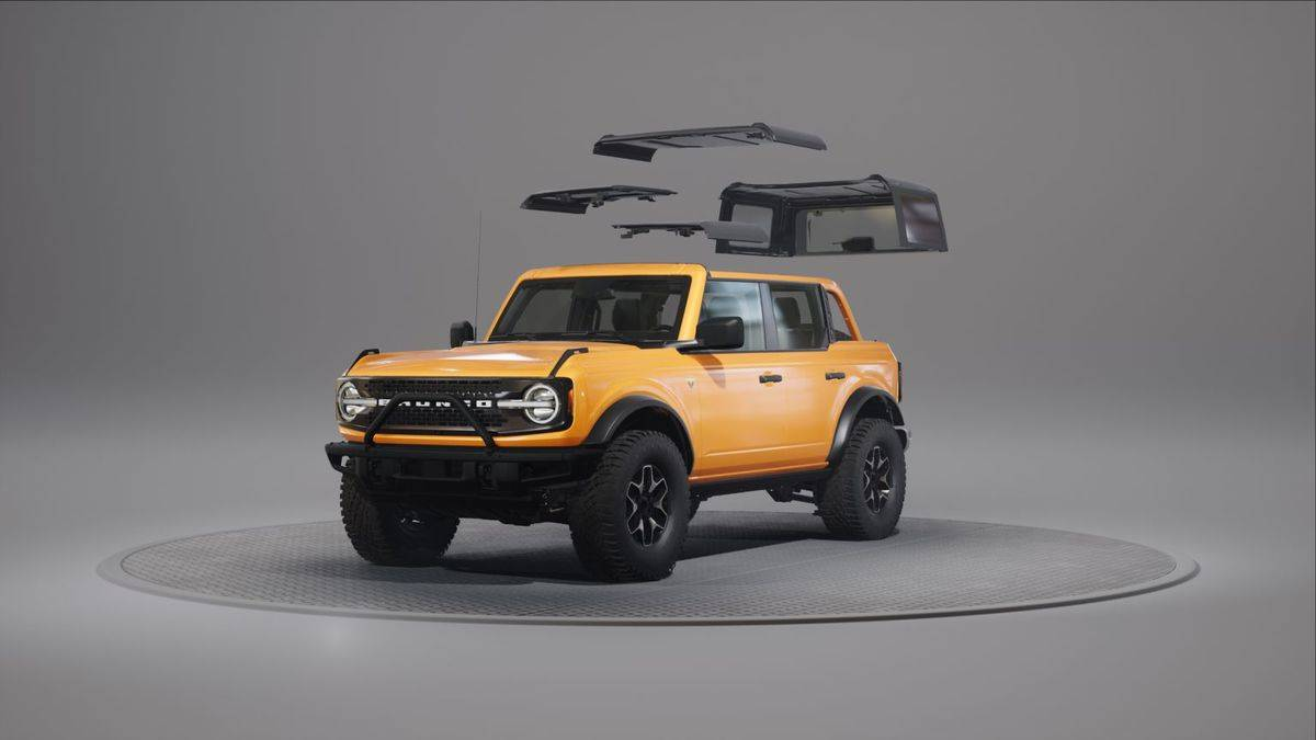 2021 Ford Bronco Removable Roof