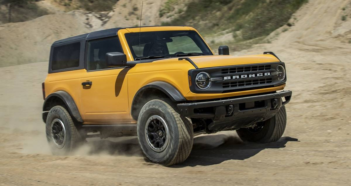 2021 Ford Bronco Sasquatch Package