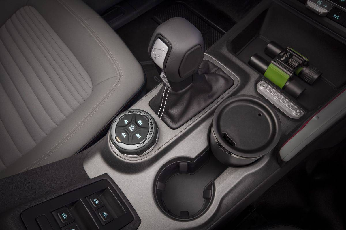 2021 Ford Bronco Shifter