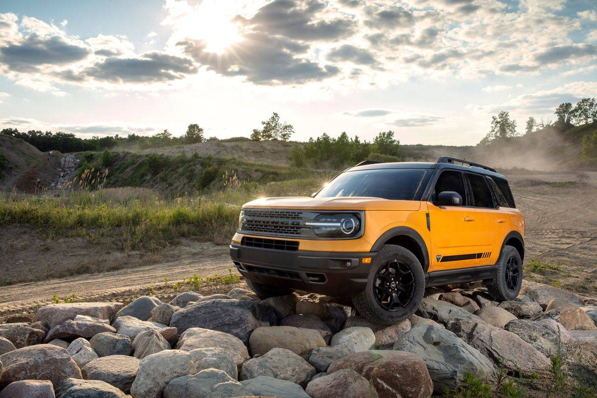 2021 Ford Bronco Trail Control