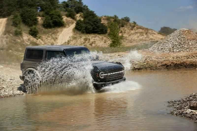 2021 Ford Bronco Water Fording