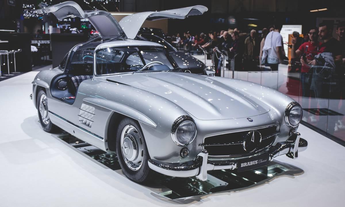 The Mercedes-Benz 300 SL