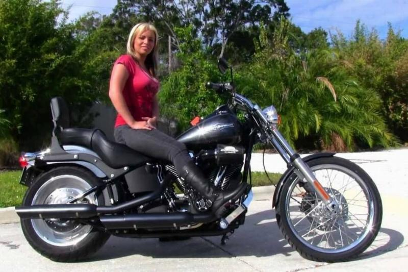 Harley-Davidson FXSTB Softail Night Train
