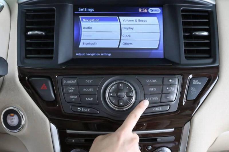 Nissan-Pathfinder-Infotainment-System