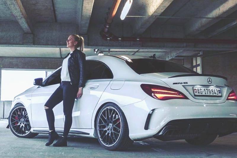 The stunning Mercedes-Benz CLA 45 AMG