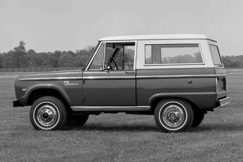 1967 Ford Bronco - Detroit Low Risers Car Club...