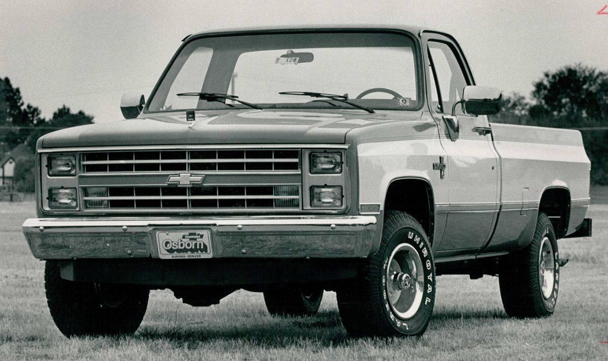1988- Chevrolet C/K1500