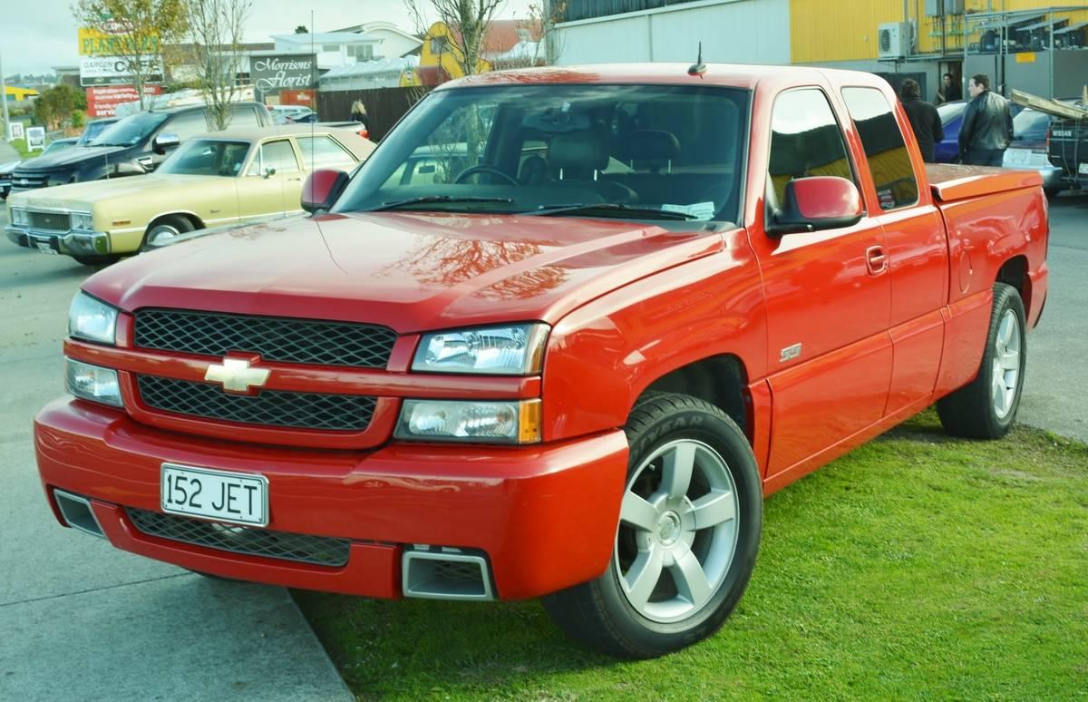 2003- Chevrolet Silverado SS