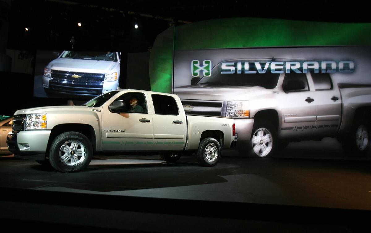 2007- Chevrolet Silverado 1500