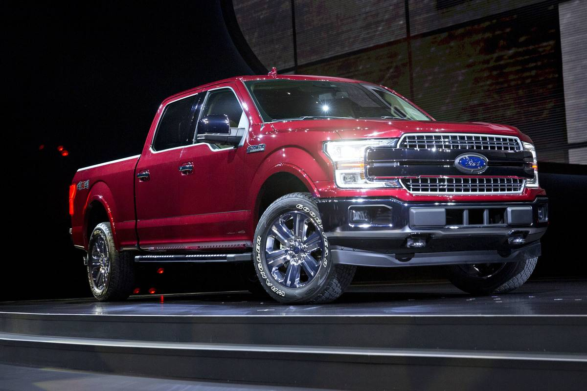 2016- Ford F-150