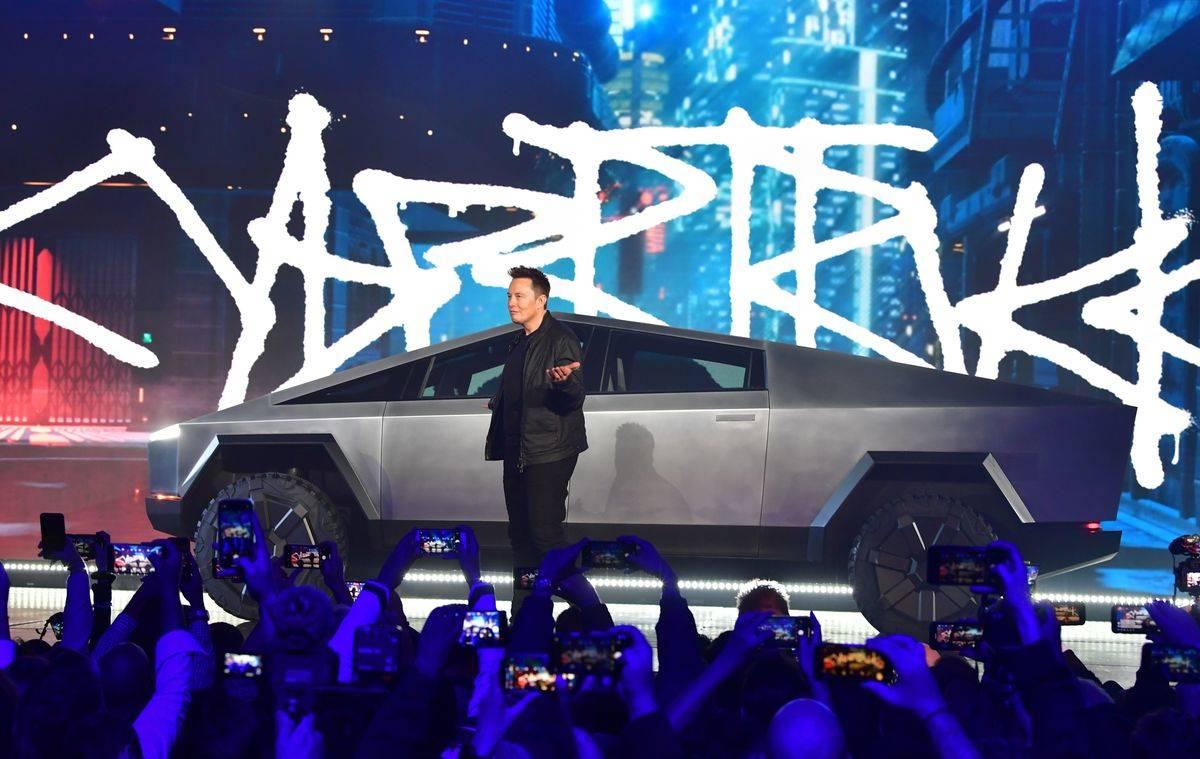 2019- Tesla Cybertruck