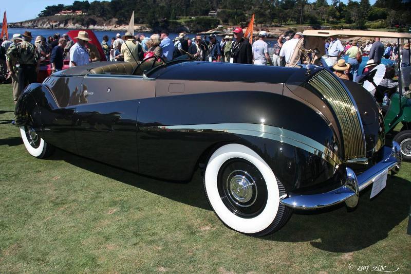 Rolls-Royce Phantom III Labourdette Vutotal Cabriolet