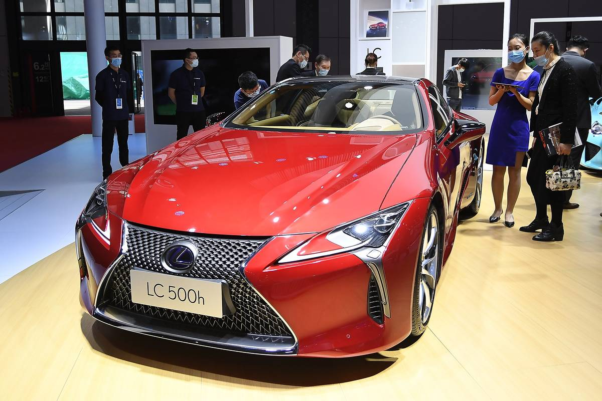 Auto Shanghai 2021 - Media Day 1