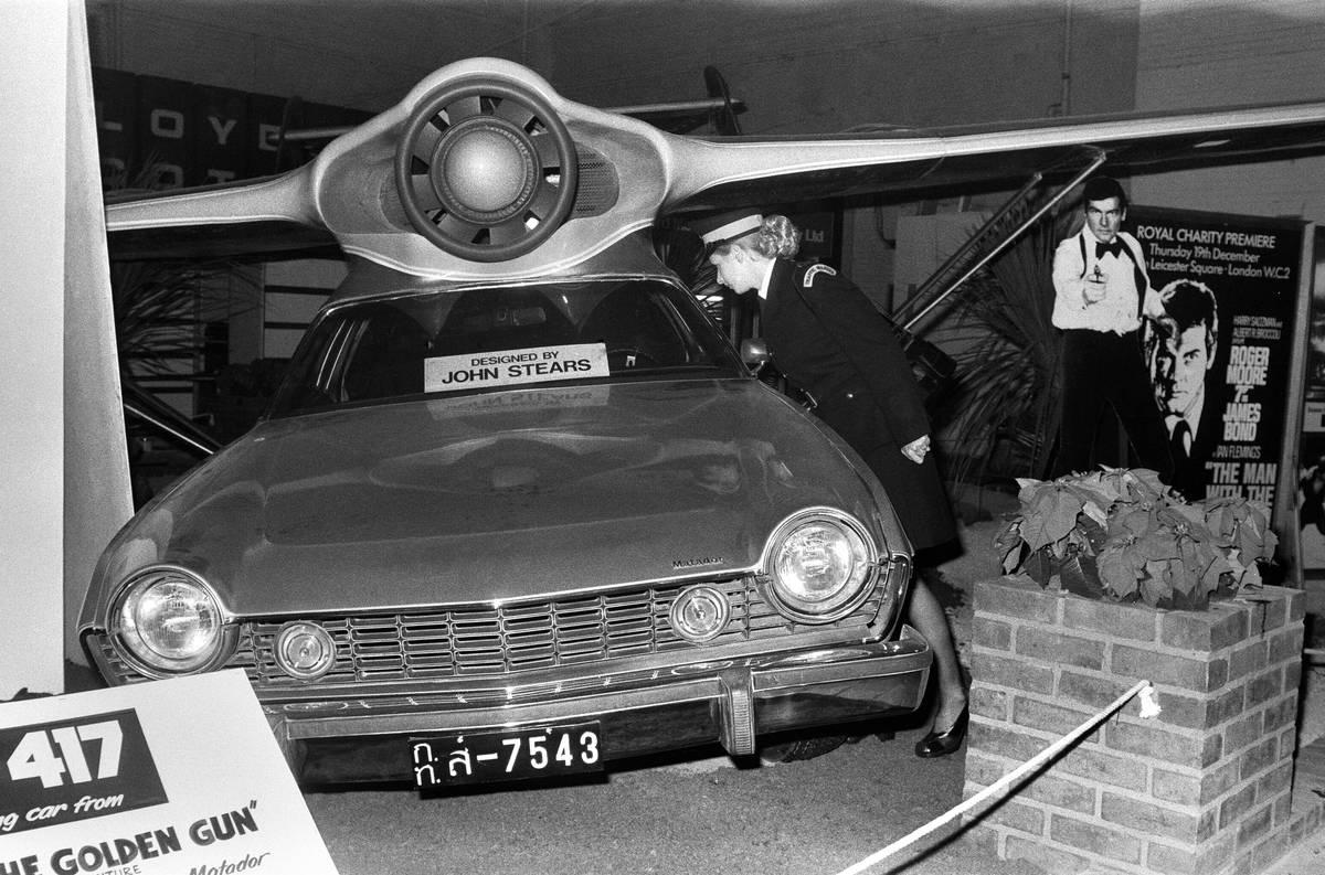 Earls Court motor show 1974