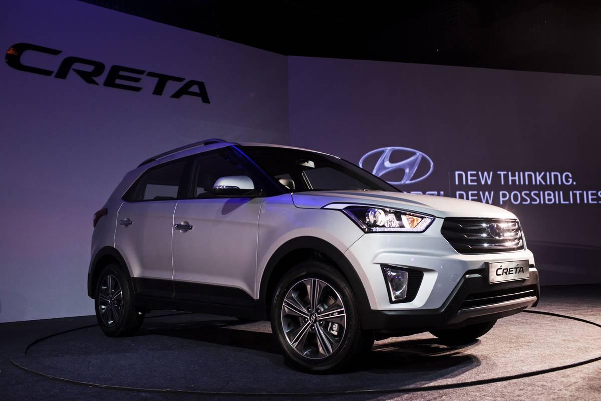 Hyundai Motor Co. Unveils The Creta Sports Utility Vehicle