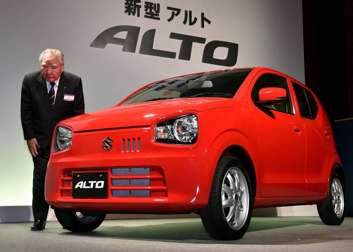 JAPAN-AUTO-SUZUKI