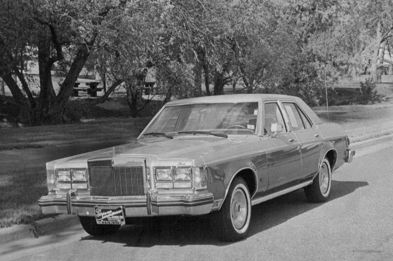 JUN 18 1977; Lincoln Versailles Has Mirror-Like, Hand-Polished Acrylic Enamel Finish; Long list of s