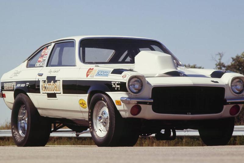 Kimball Brothers Turbo Chevy Vega Pro Stock
