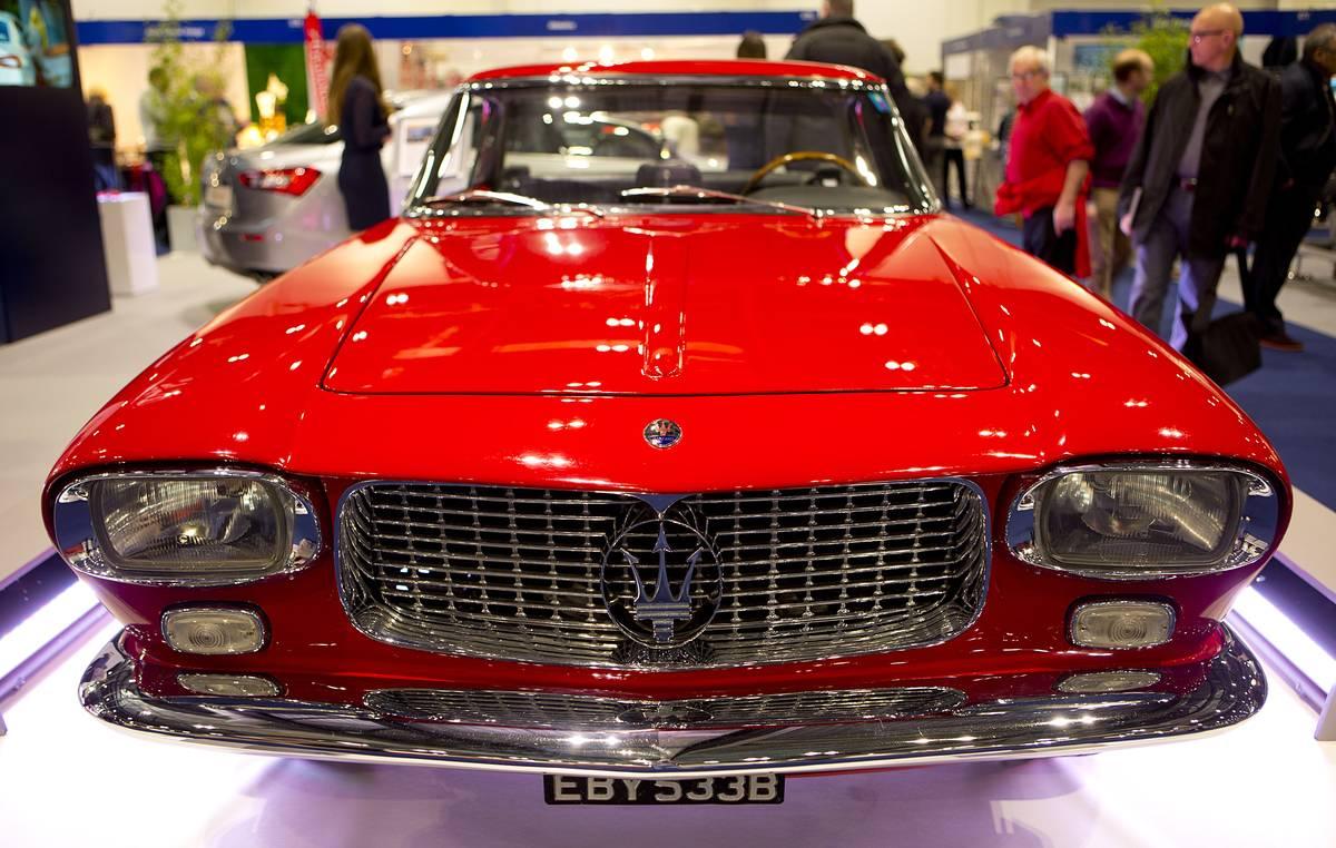 The London Classic Car Show 2015