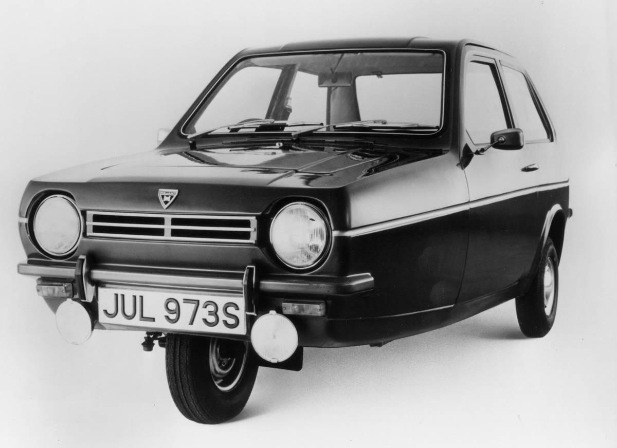 1978 Reliant Robin.