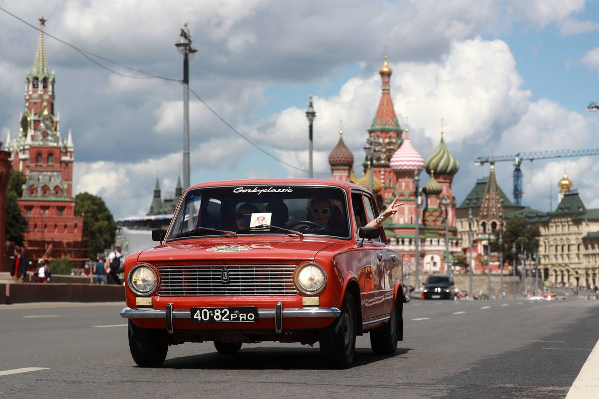 2017 GUM Motor Rally in Moscow