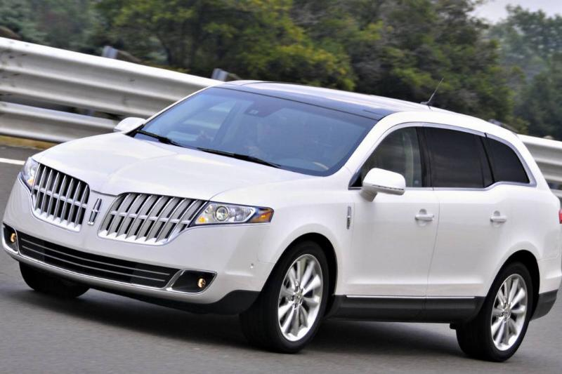 A 2010 Lincoln MKT is driven at the Ford Motor Co. Dearborn