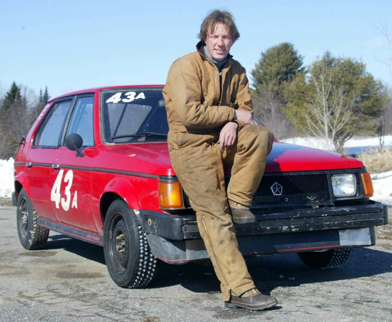 Bob Koenig, of Brunswick, is planning to race in the Hardwater AutoRacing Challenge, a night-time ic...