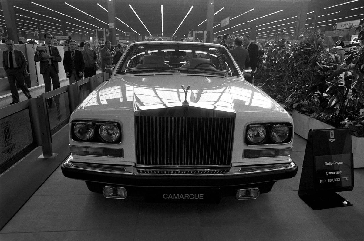 Exhibition Of Auto In Paris, France In October ,1980.