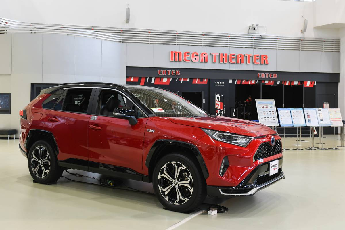 Social Distancing At Toyota Motor Gallery Ahead of First Quarter Earnings
