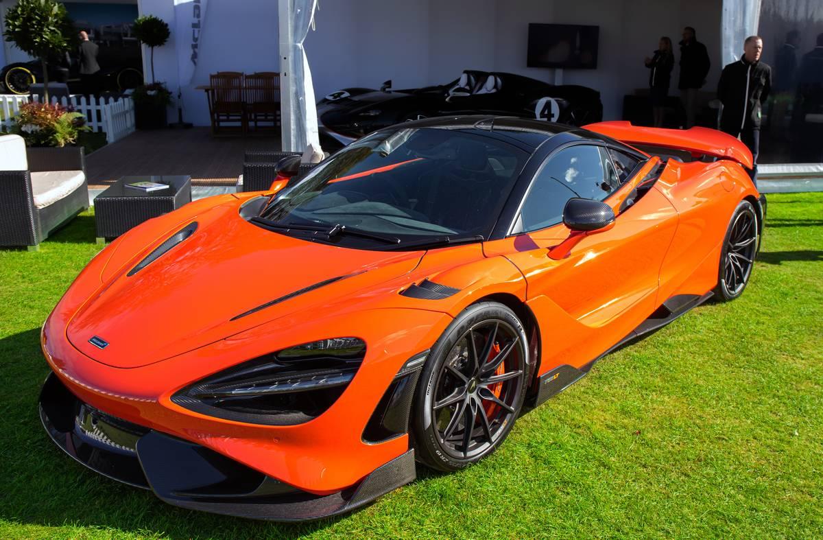 The McLaren 765LT...