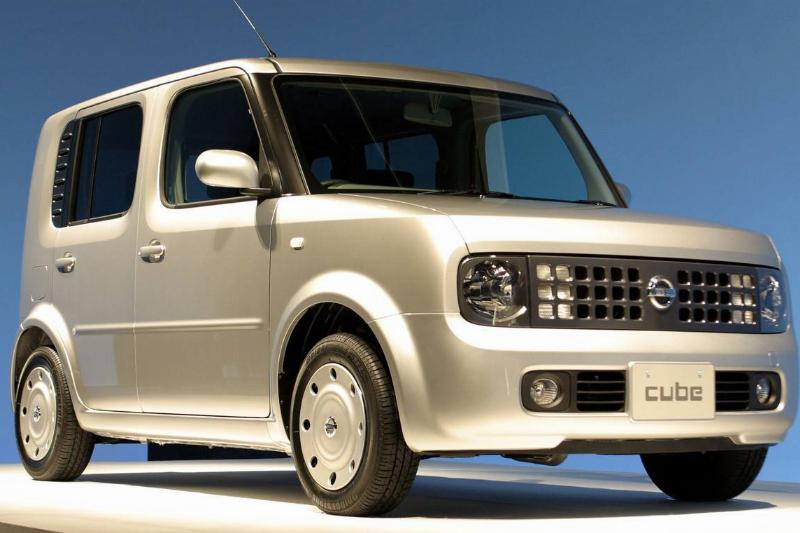 The Nissan 'Cube'