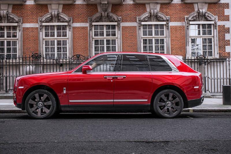 The Rolls Royce Cullinan...