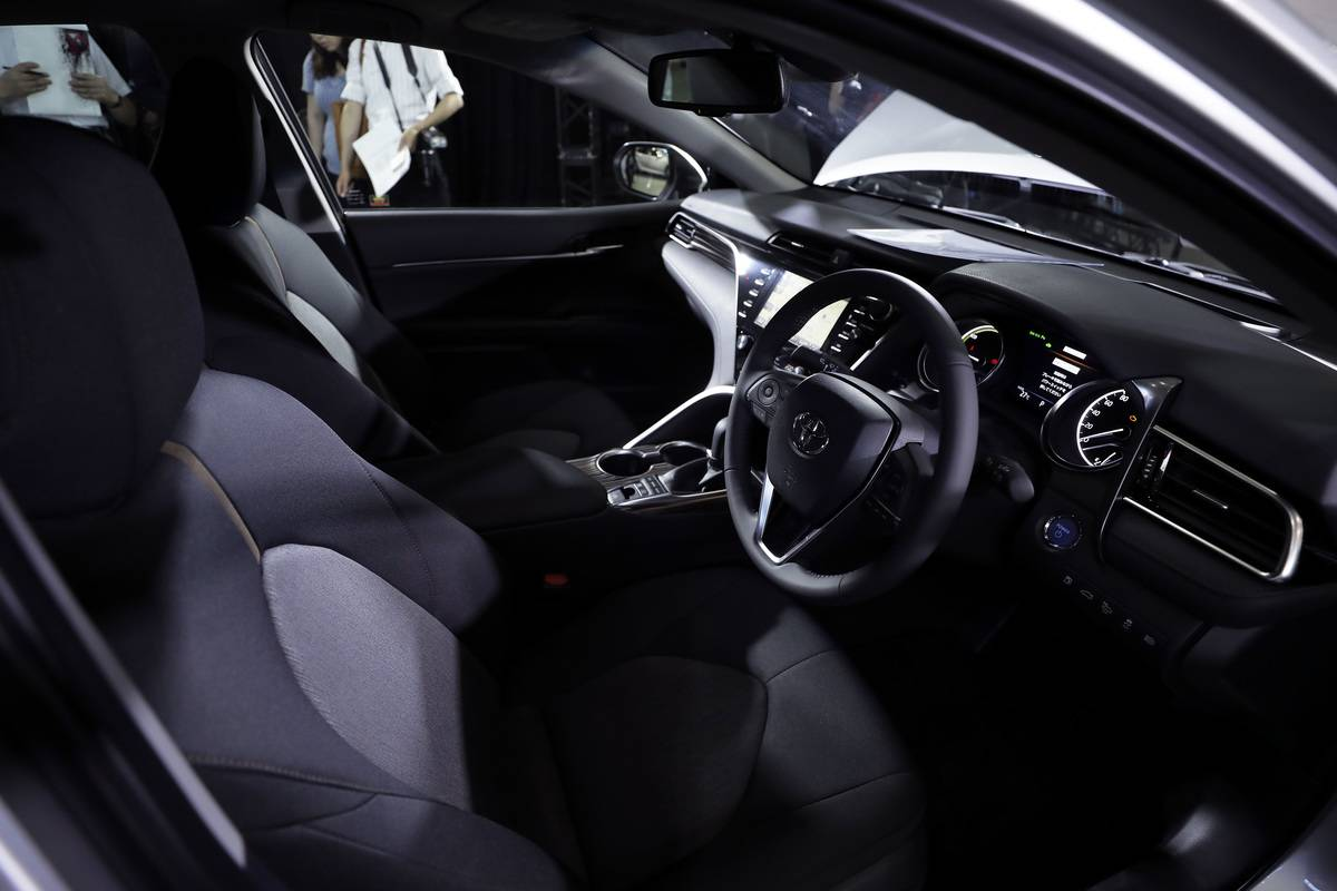 Toyota Motor Corp. Introduces New Camry