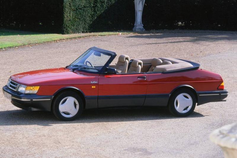 1989 Saab 900 Turbo Convertible. Creator: Unknown.