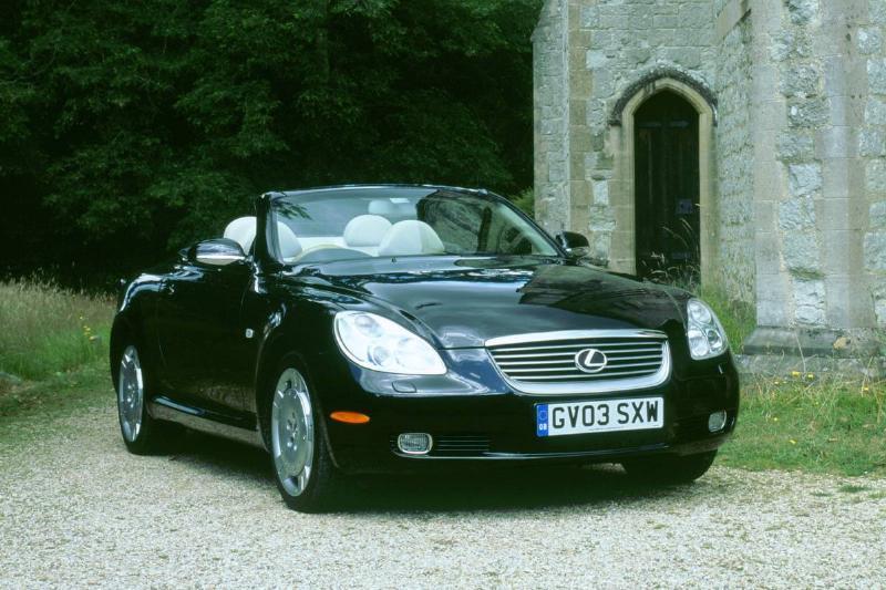 2003 Lexus SC430 4.3L