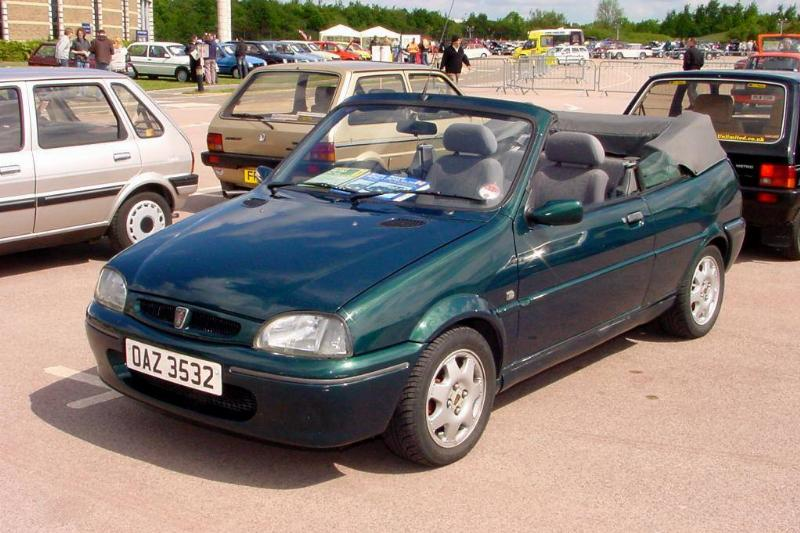 259_ February_1996_green_Rover_100_Cabriolet_1.4,_front